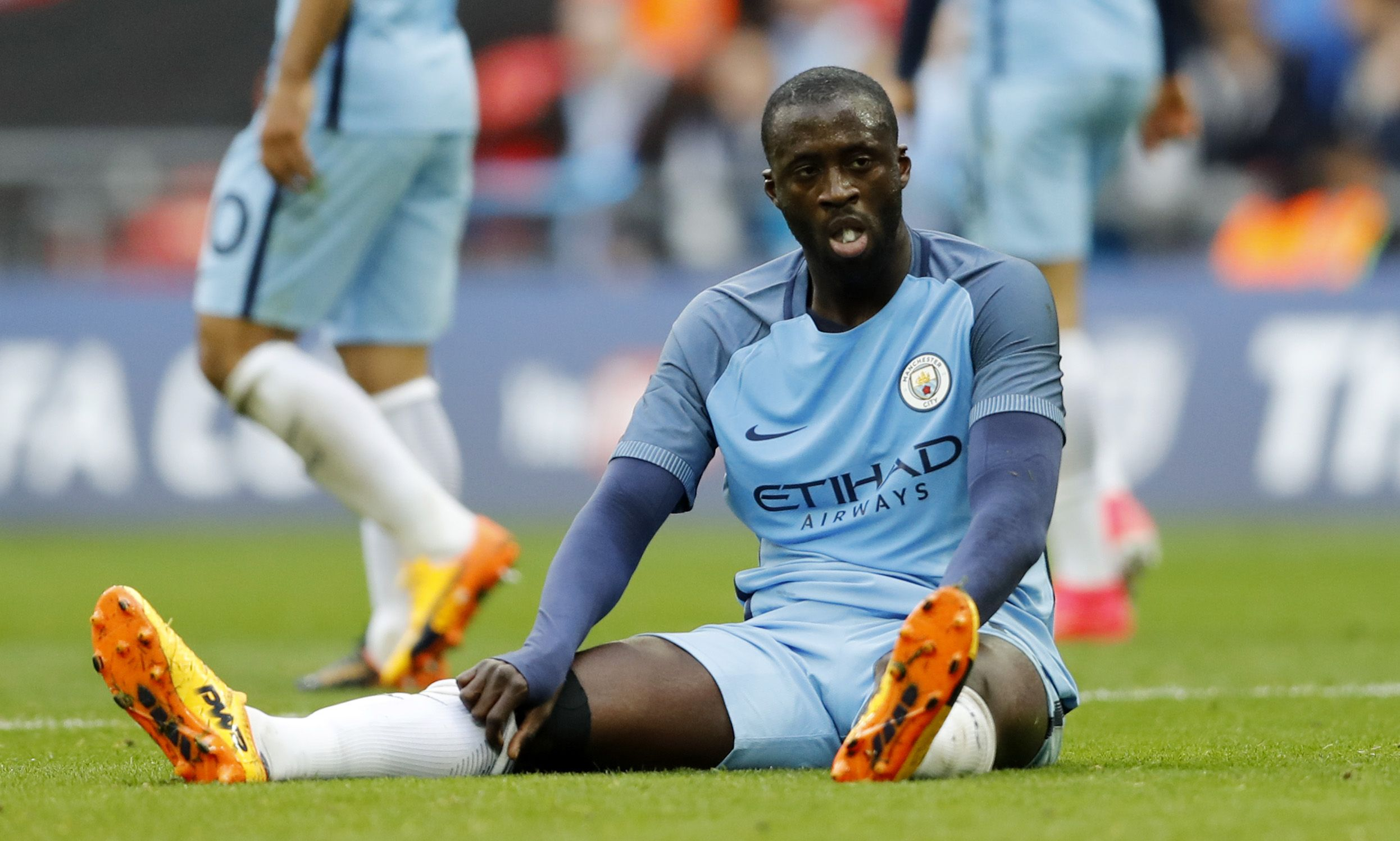 Manchester City midfielder Yaya Toure.