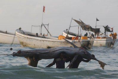 Somalia fishermen