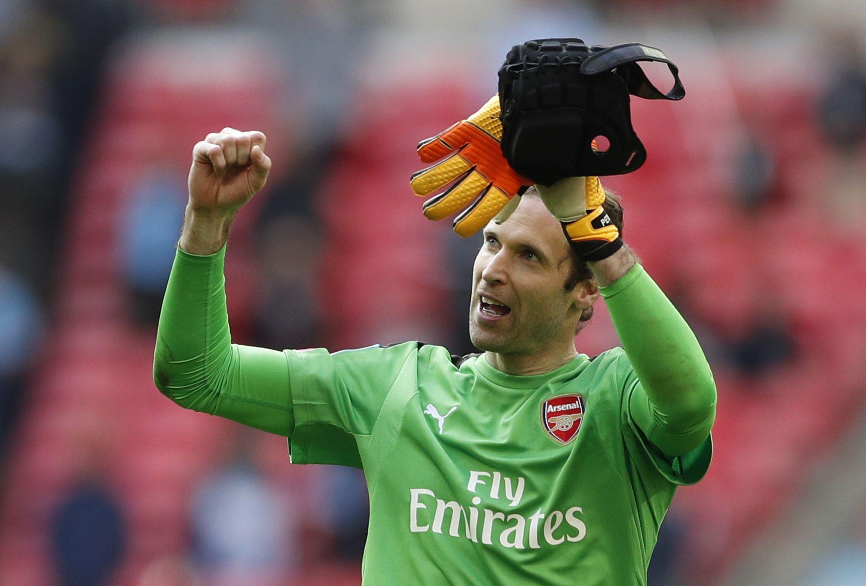 Arsenal goalkeeper Petr Cech.