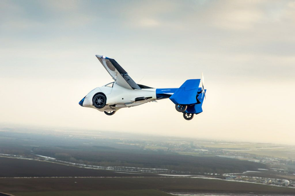 flying car aeromobil lilium uber