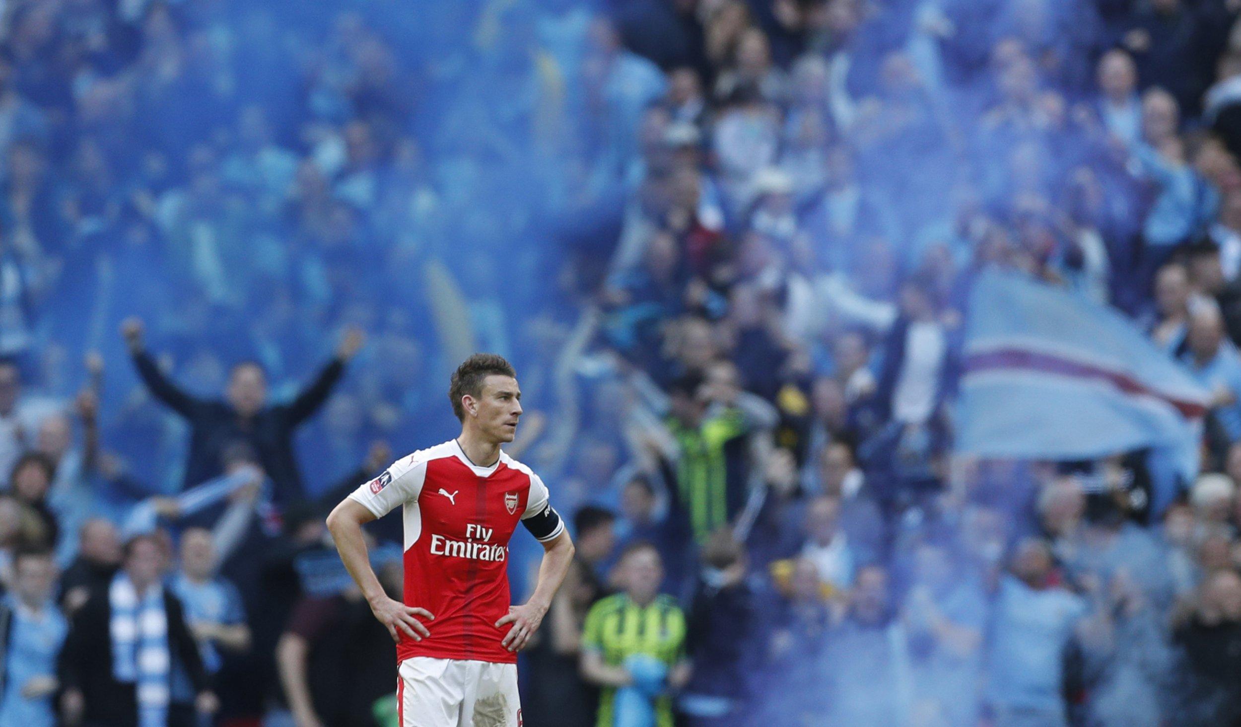 Arsenal defender Laurent Koscielny.
