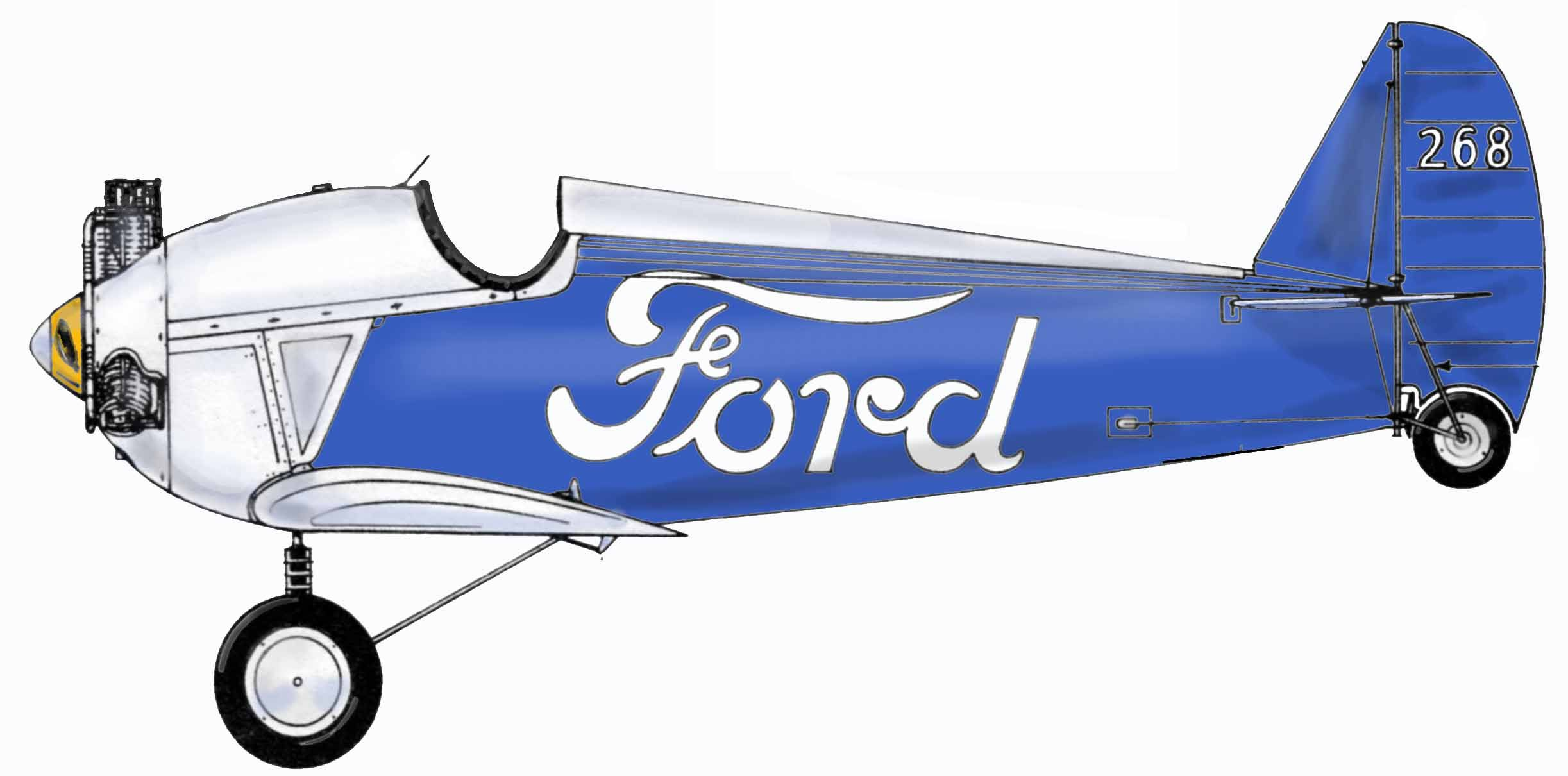 ford flivver flying car