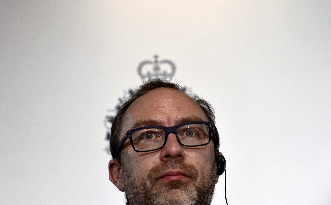jimmy wales wikitribune fake news