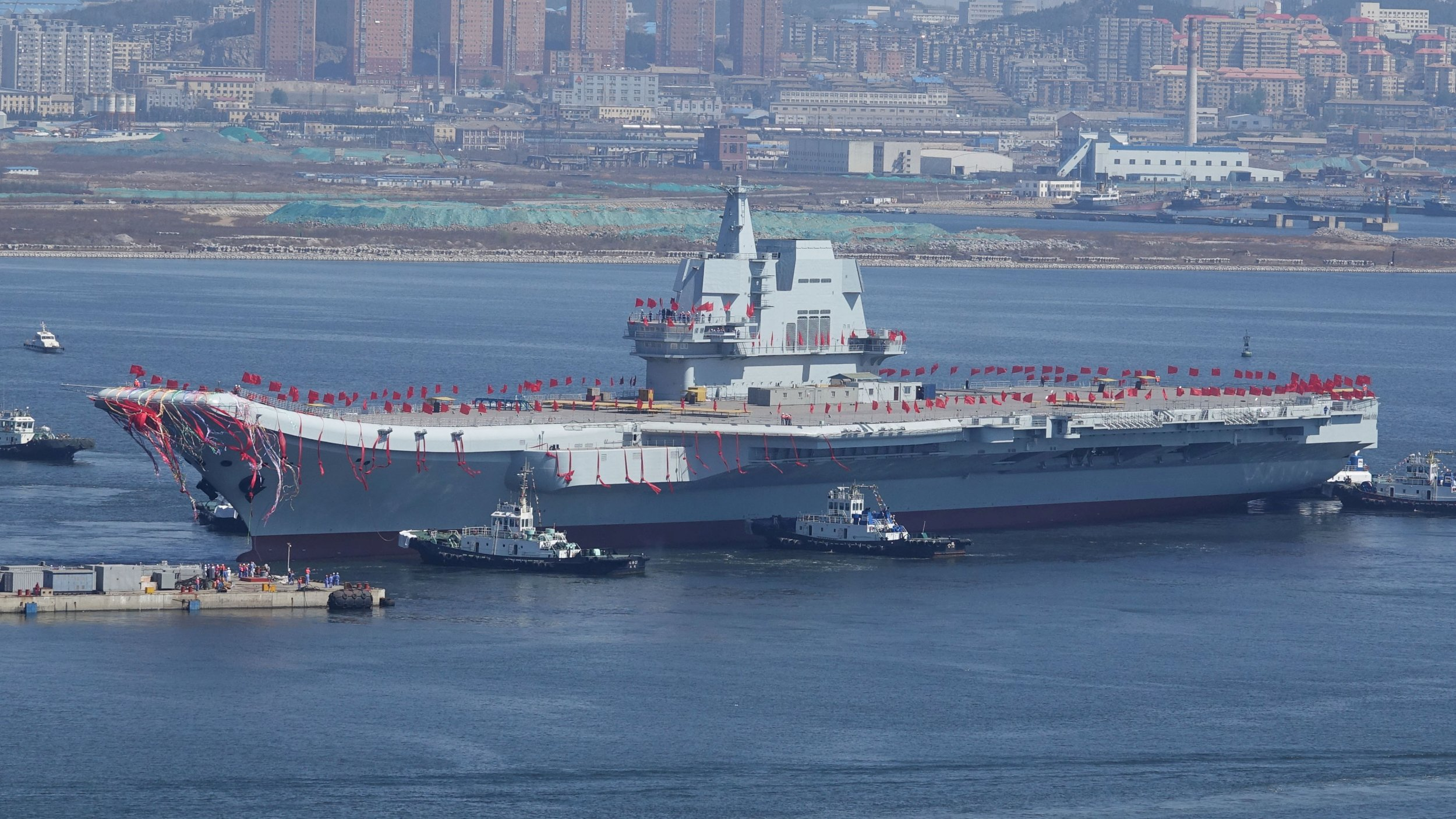 China new aircraft carrier