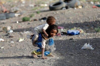 Yemen Children Conflict