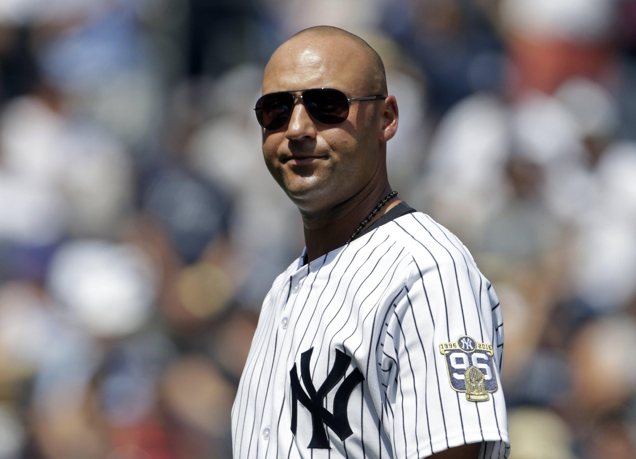 Former New York Yankees shortstop Derek Jeter.