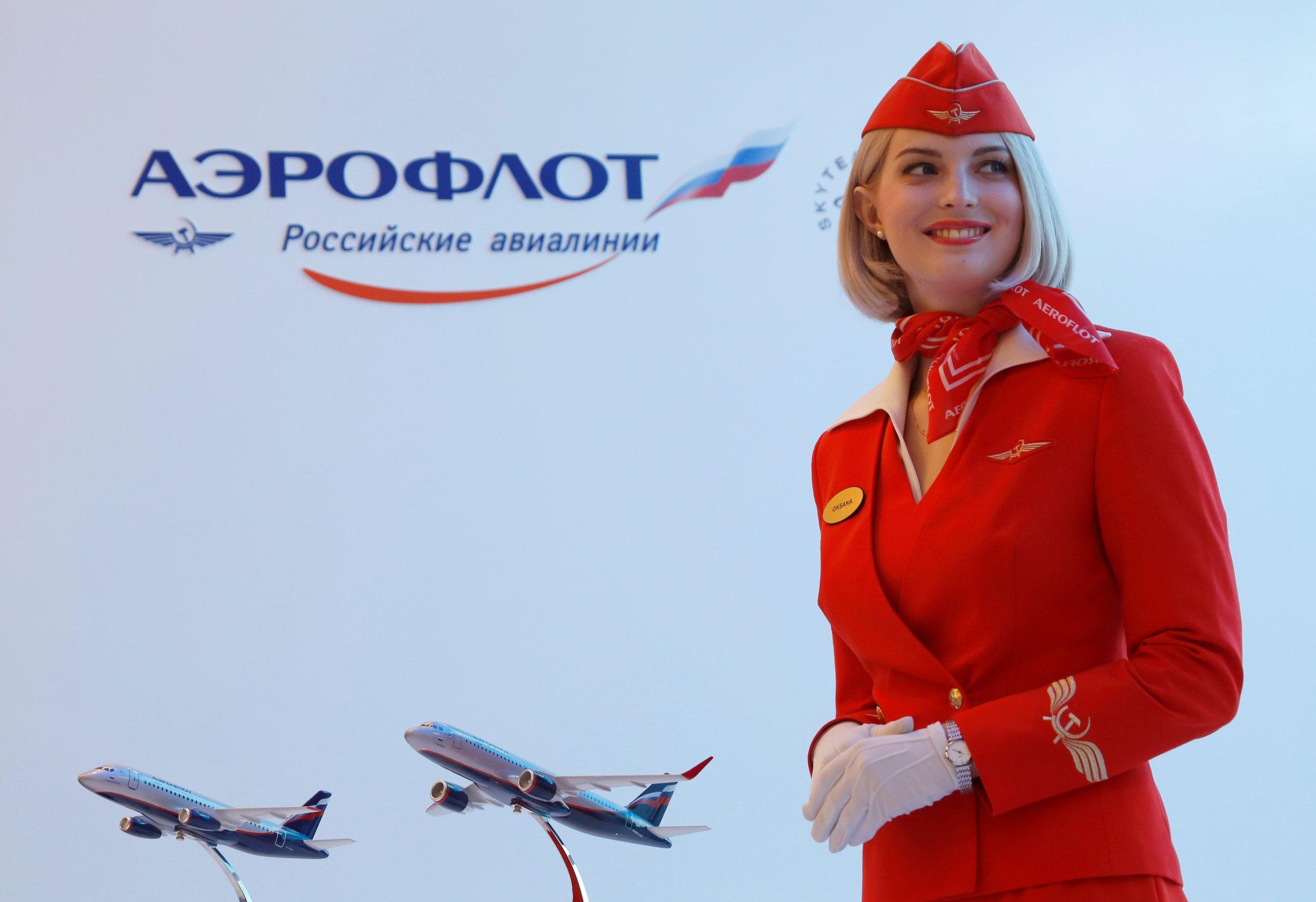 Aeroflot employee