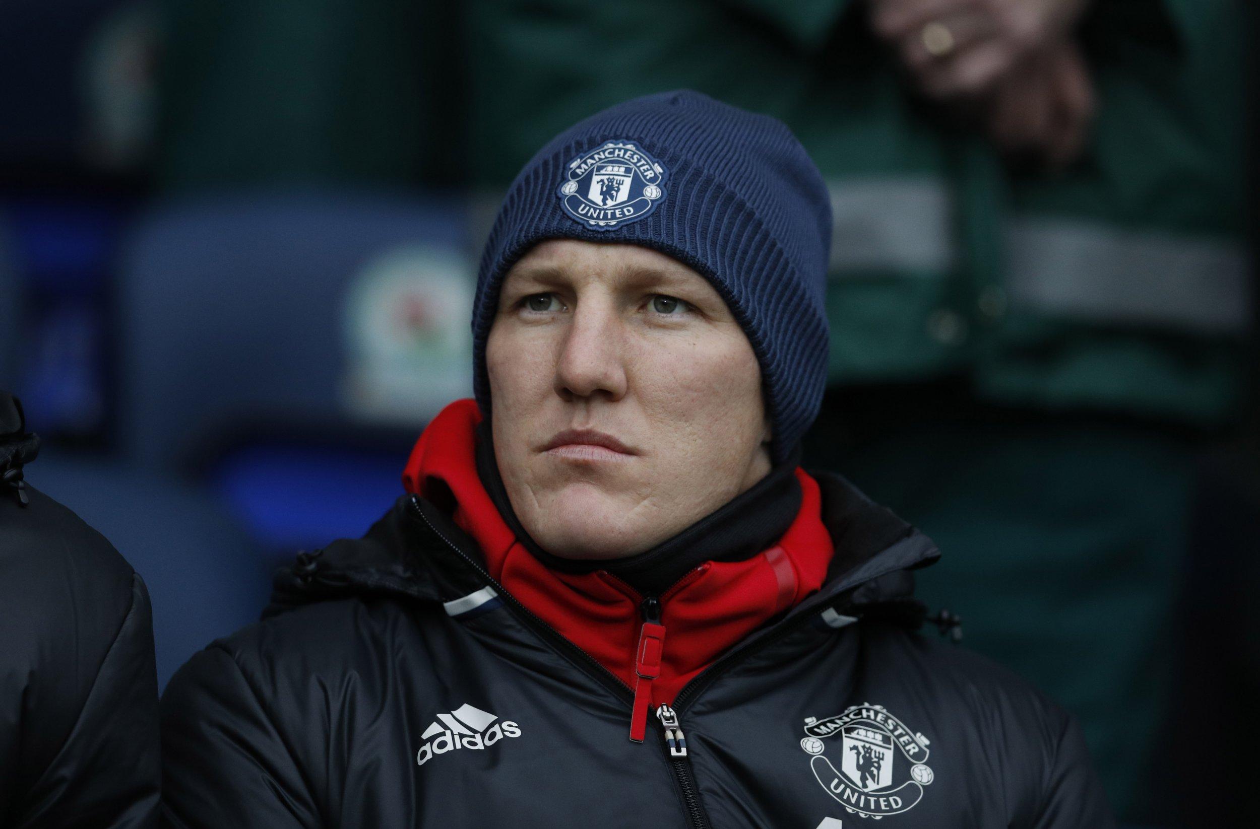 Former Manchester United, now Chicago Fire, midfielder Bastian Schweinsteiger.