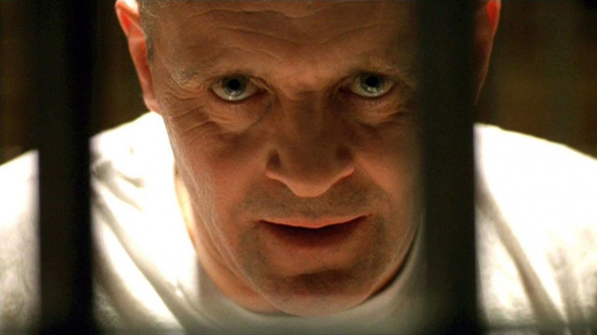 Anthony Hopkins in 'The Silence of the Lambs.'