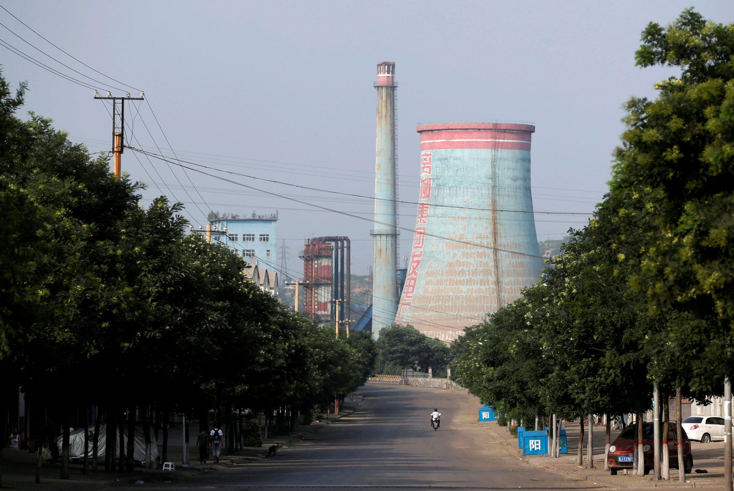 power station