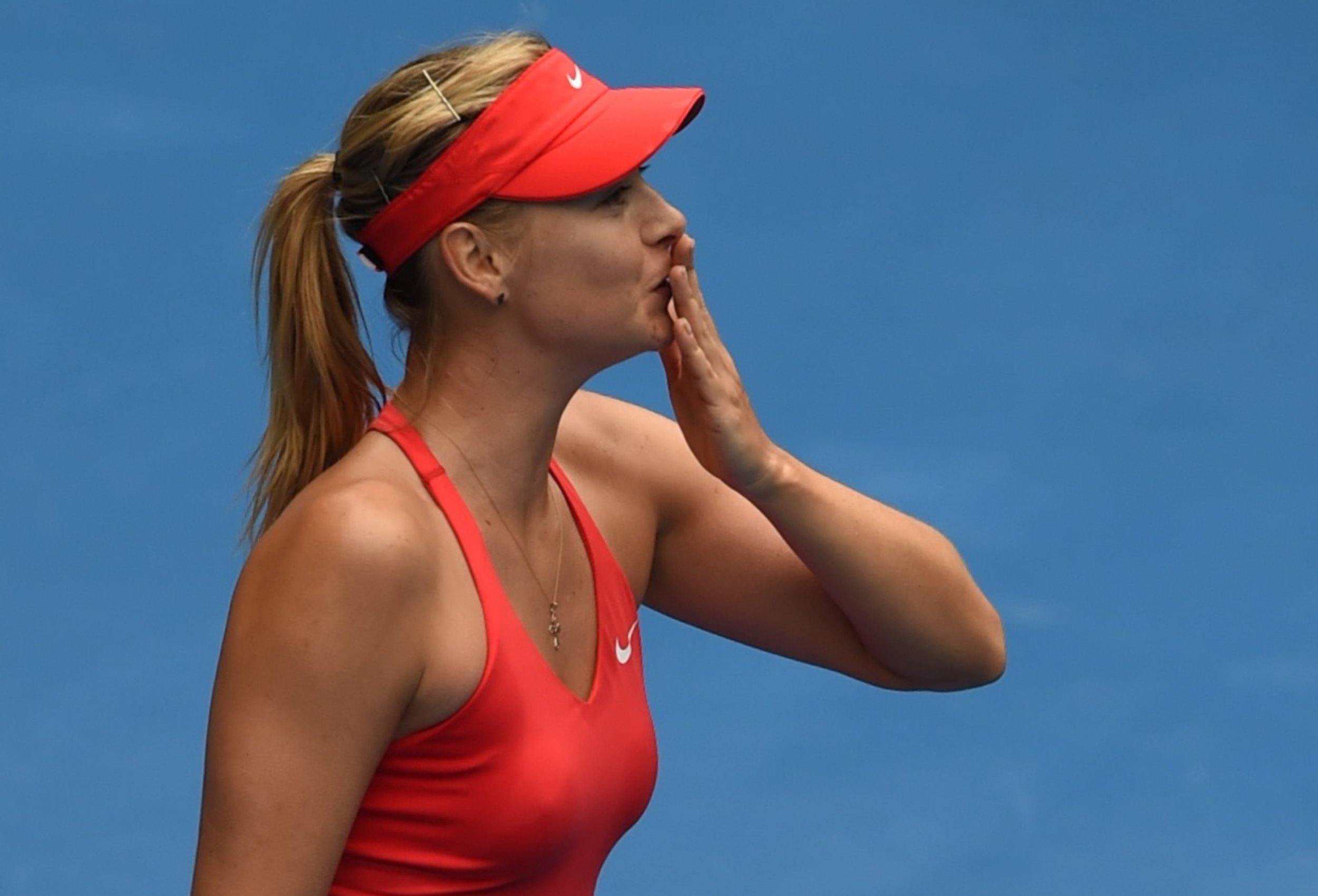 Maria Sharapova, the former world number one tennis player.