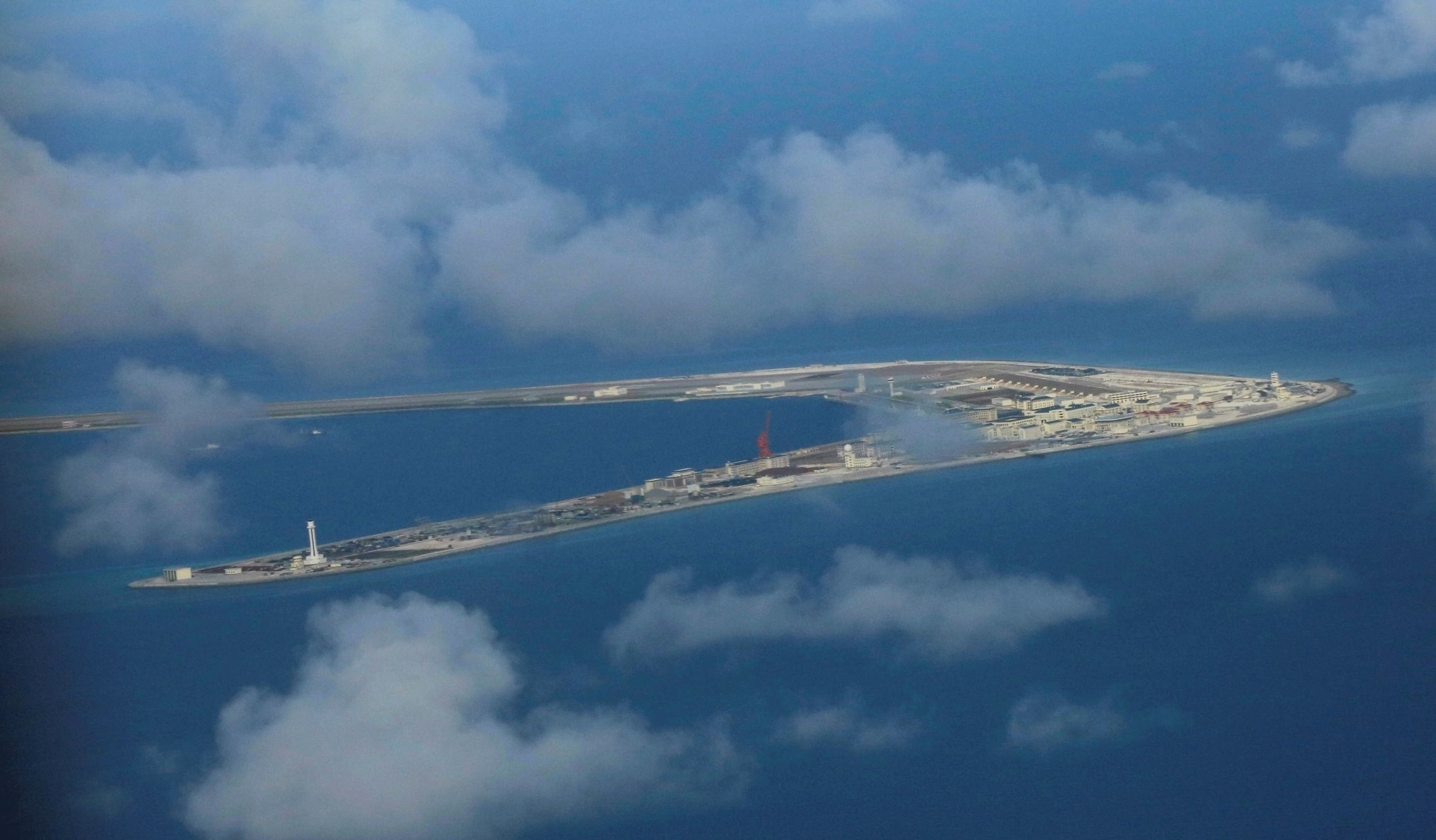 Spratly Islands in disputed South China Sea