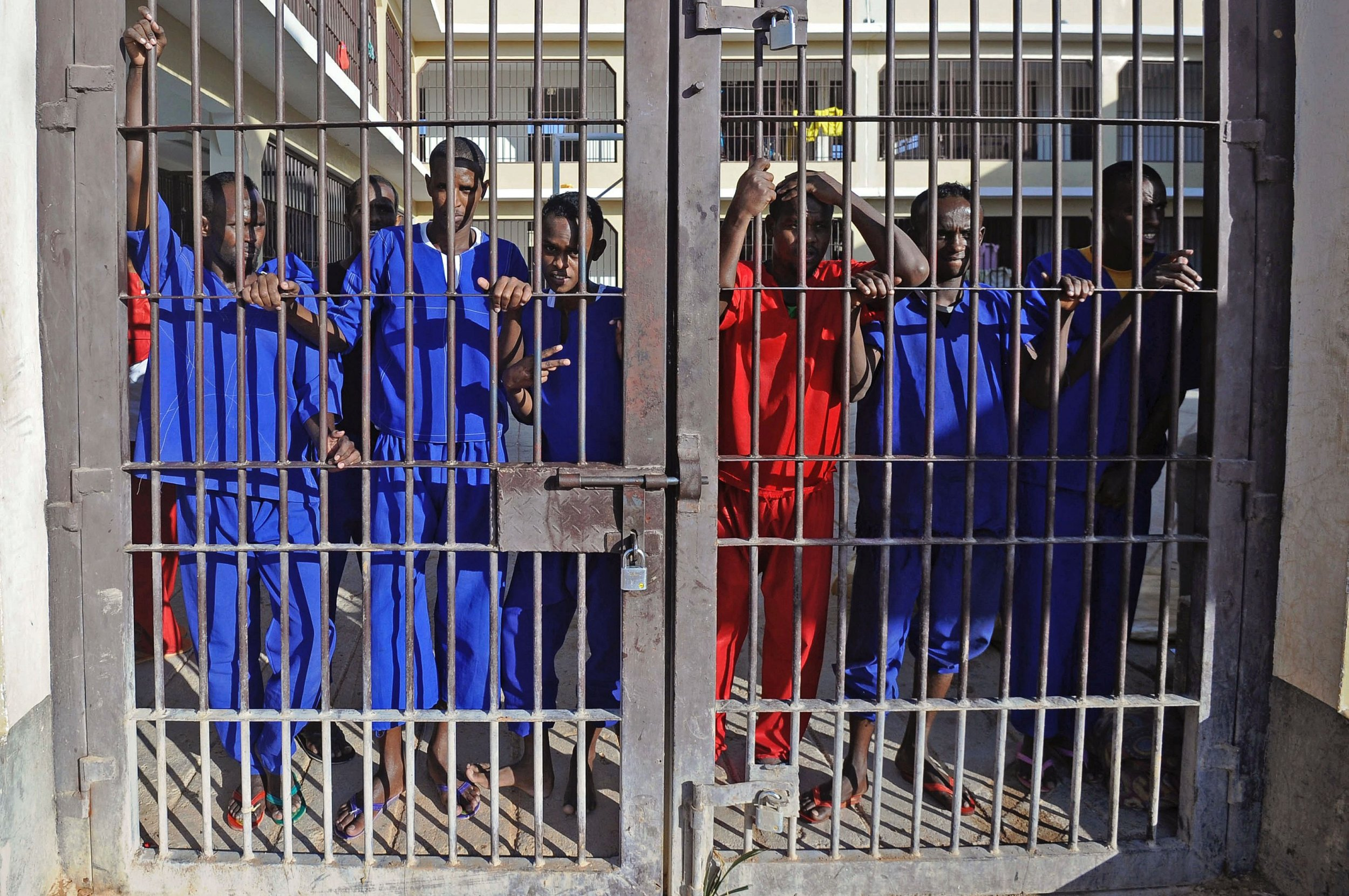 Somalia pirates in prison