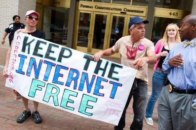 net neutrality fcc protest petition