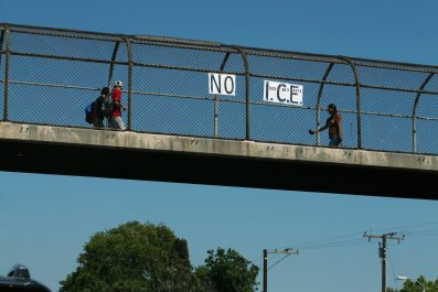 Immigration, ICE, protest