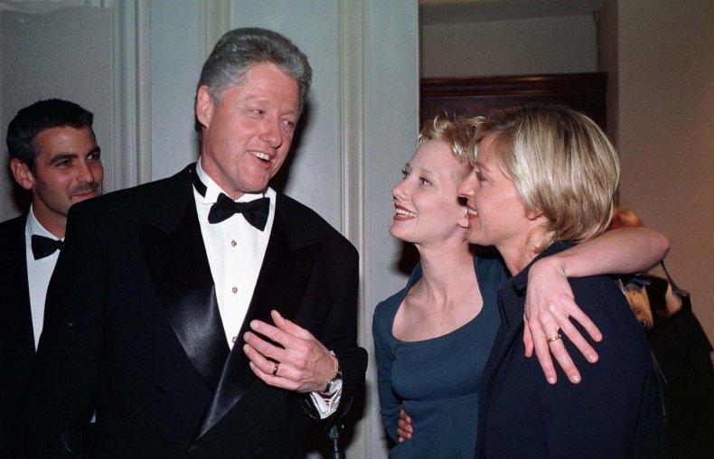 Ellen DeGeneres Bill Clinton