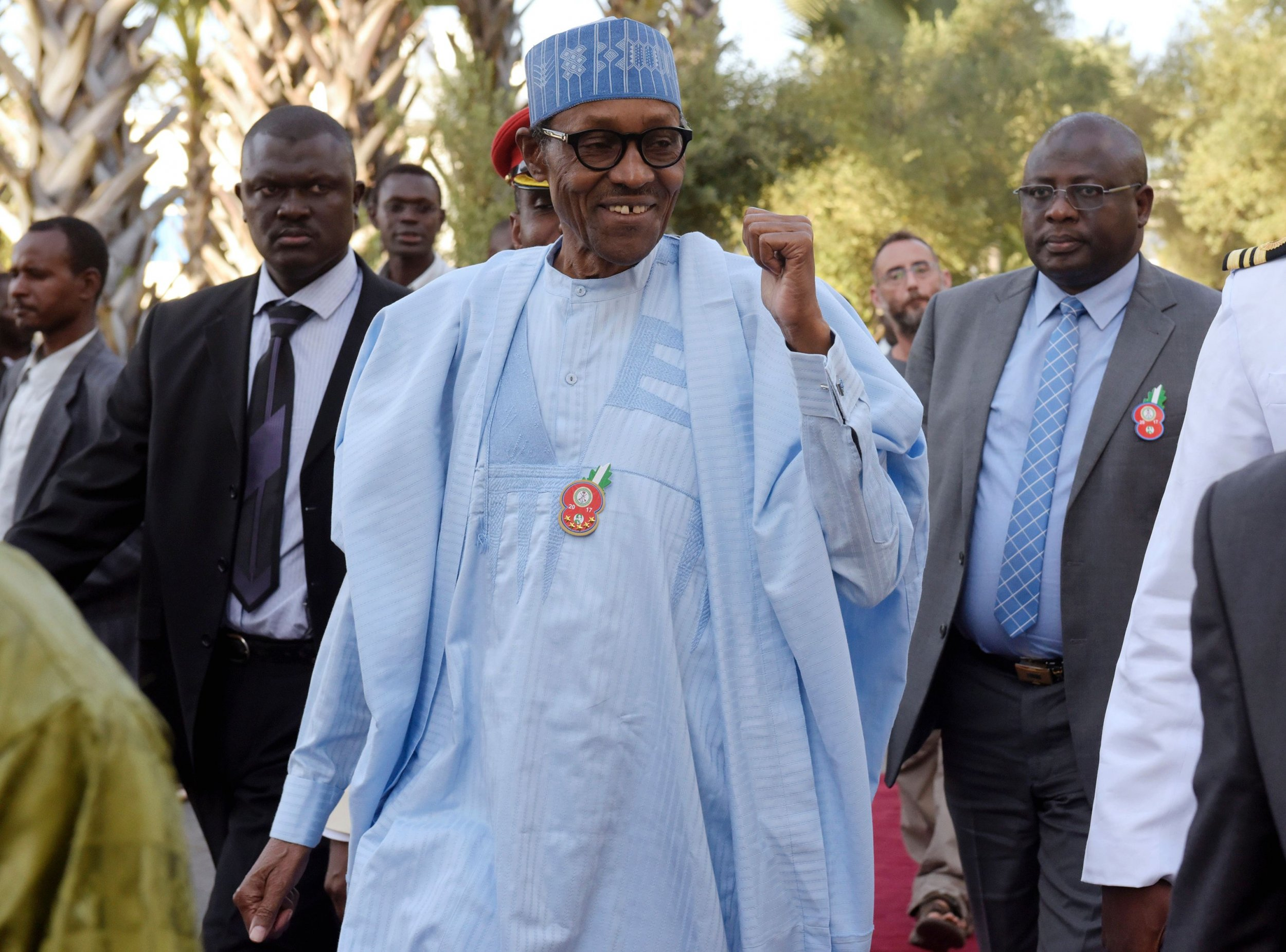 Buhari in Gambia