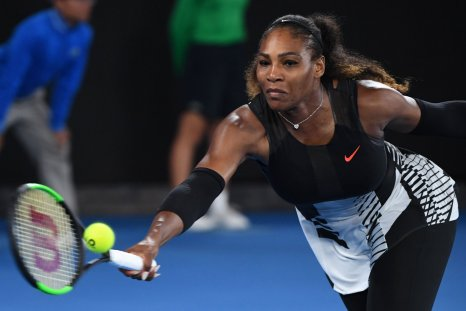 World number one tennis player Serena Williams.