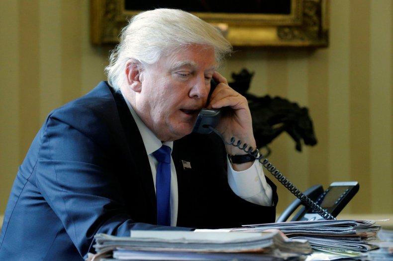 Trump speaks to Putin