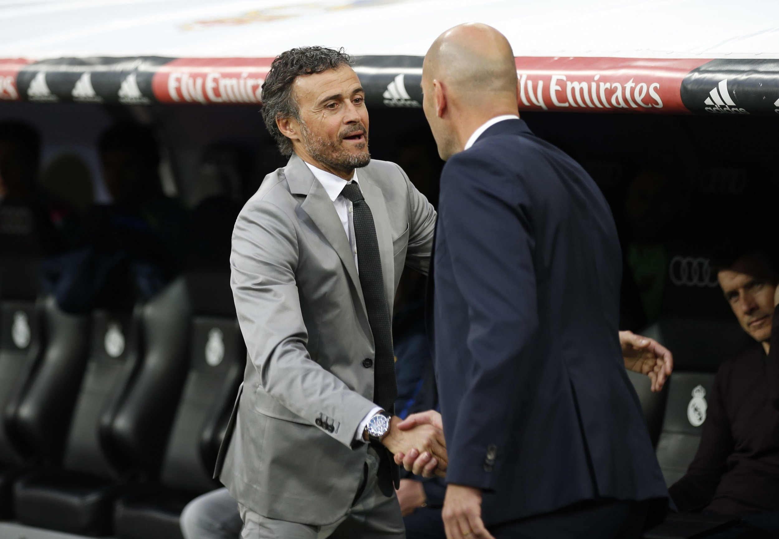 Enrique and Zidane
