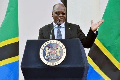 Tanzanian President John Pombe Magufuli