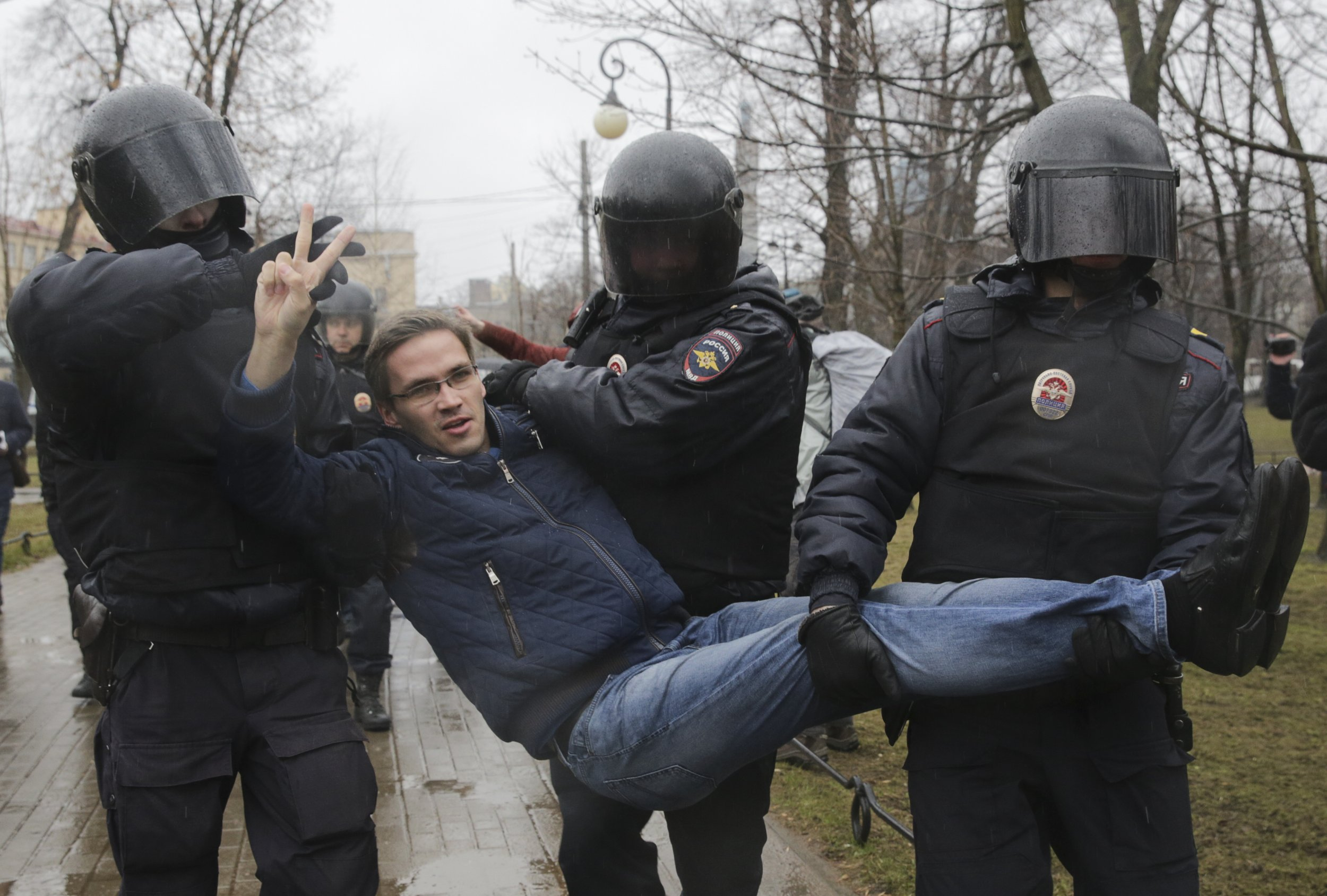 Russians Protest