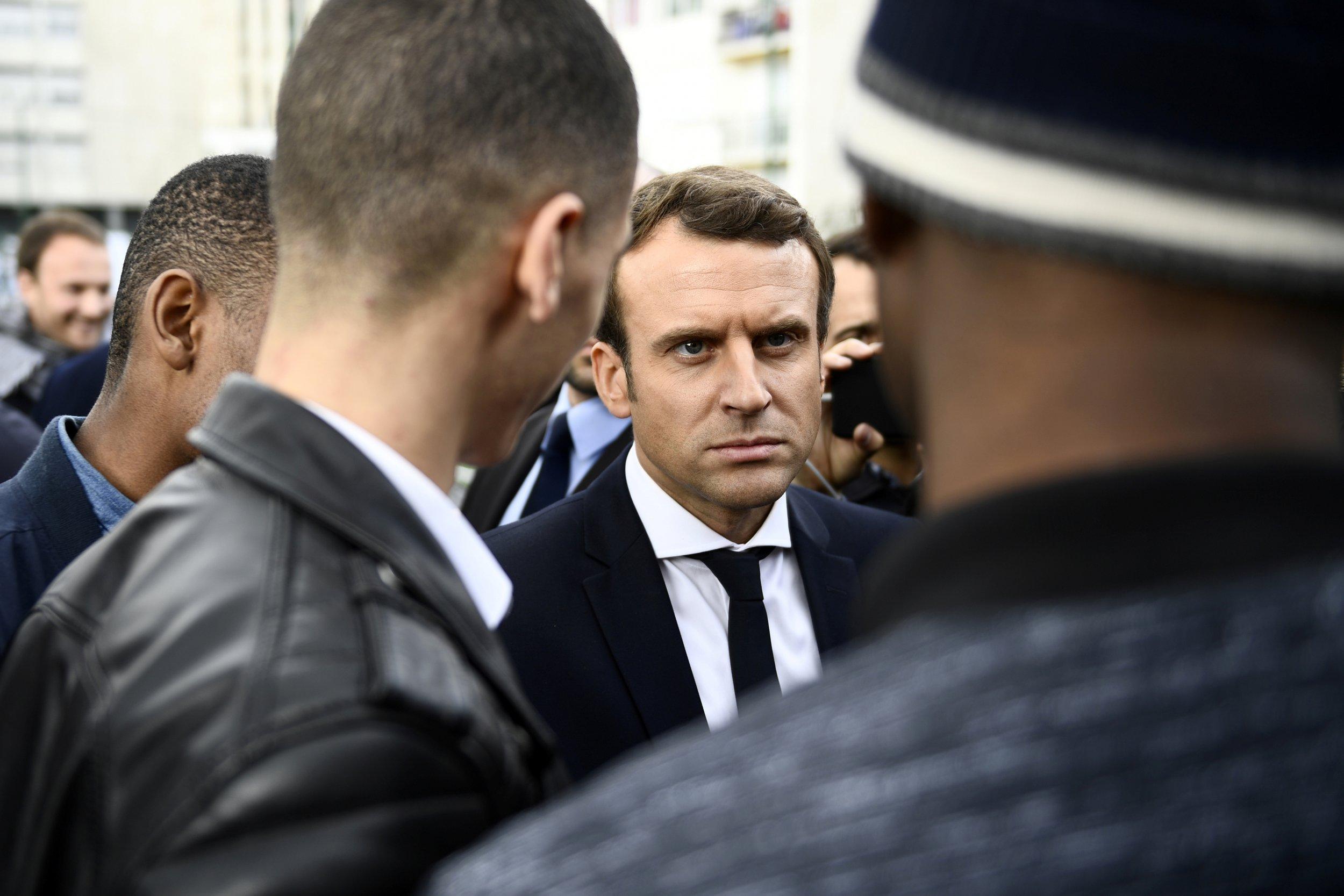 French Election: Emmanuel Macron's En Marche! Would Win ... Emmanuel Macron