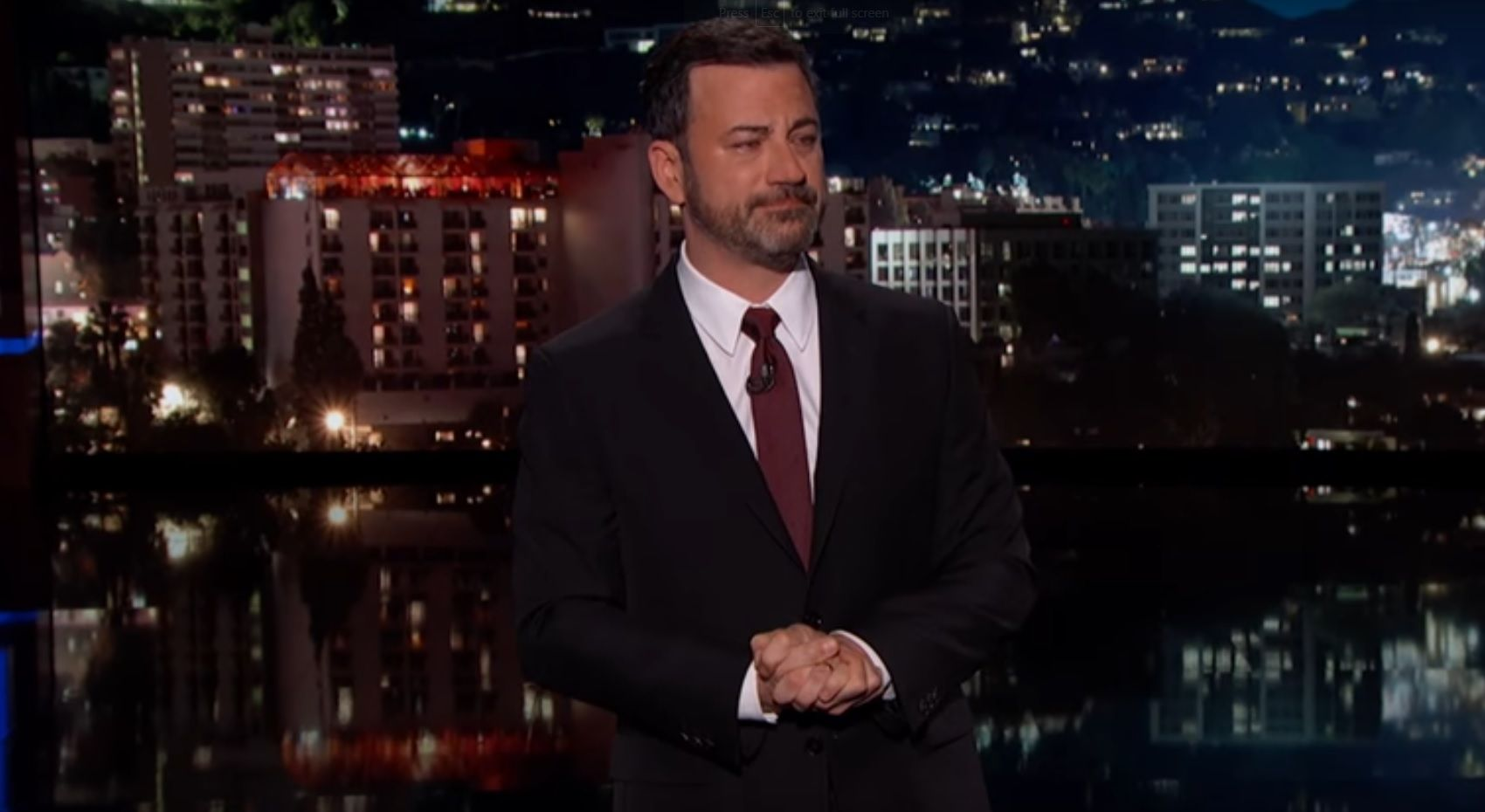 Jimmy Kimmel's moving admission on Jimmy Kimmel Live