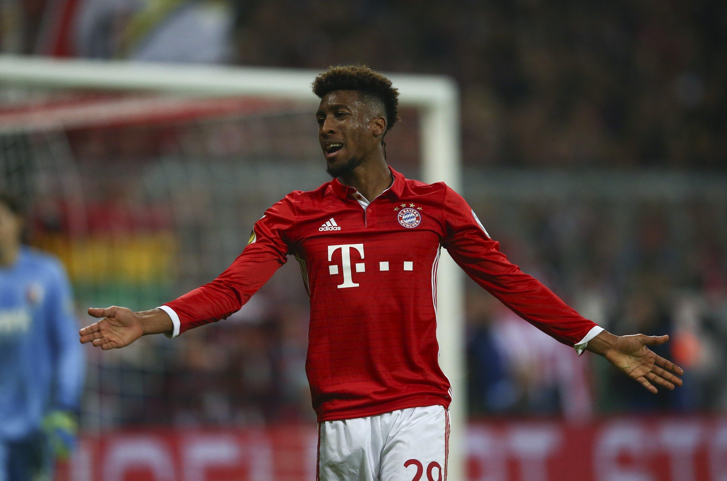 Bayern Munich winger Kingsley Coman.