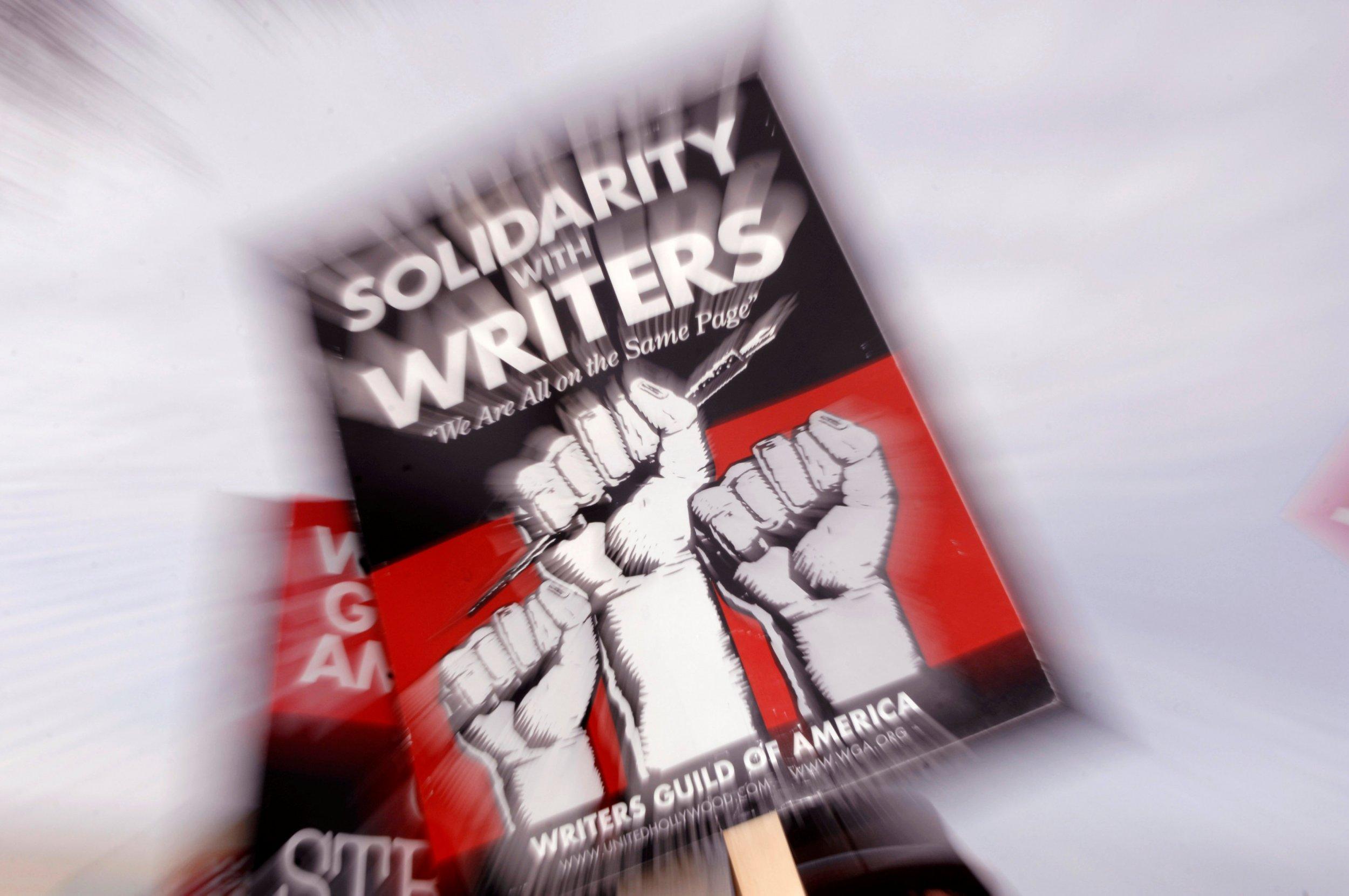 Writers Guild of America strike