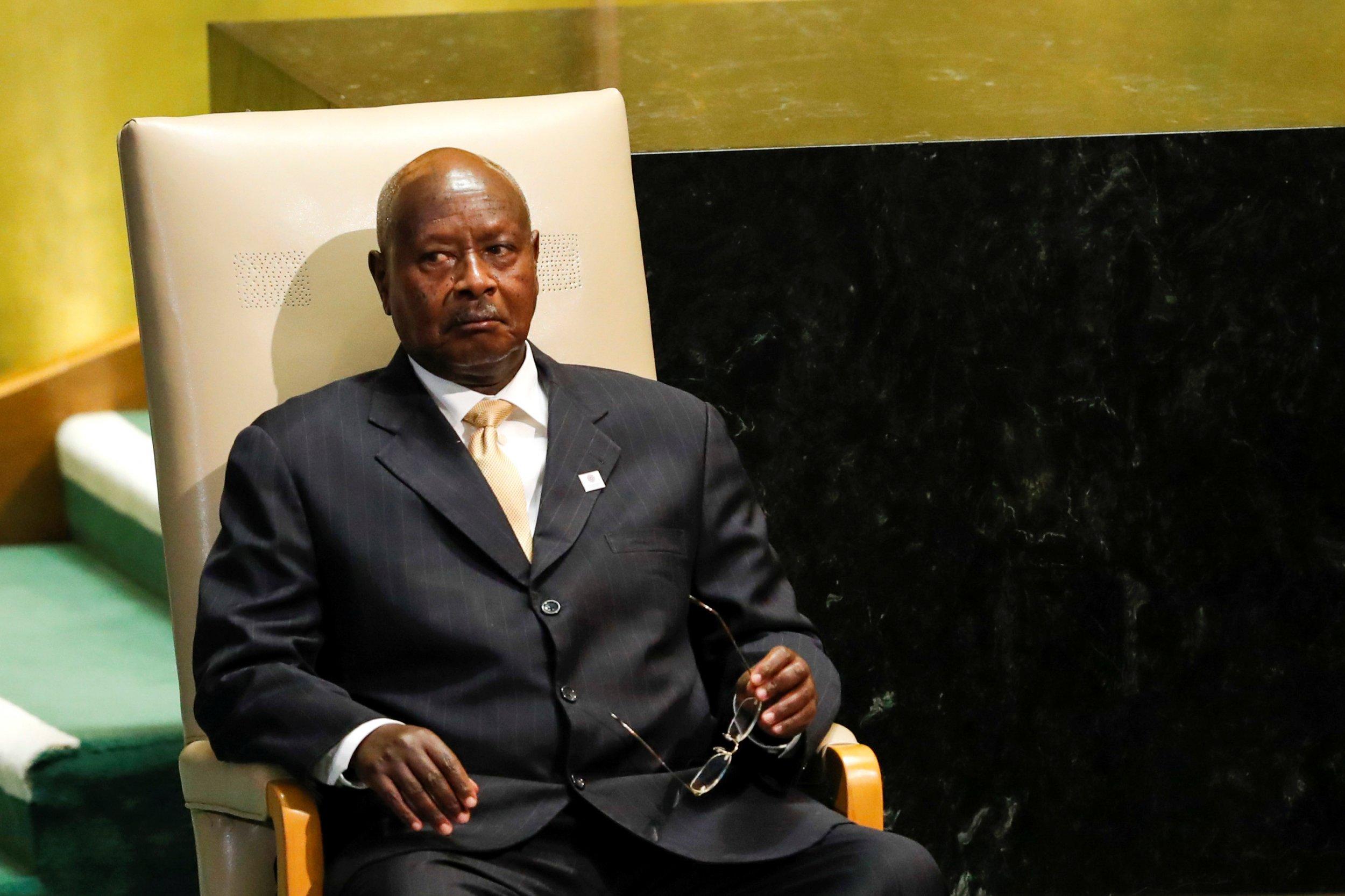 Museveni at UN