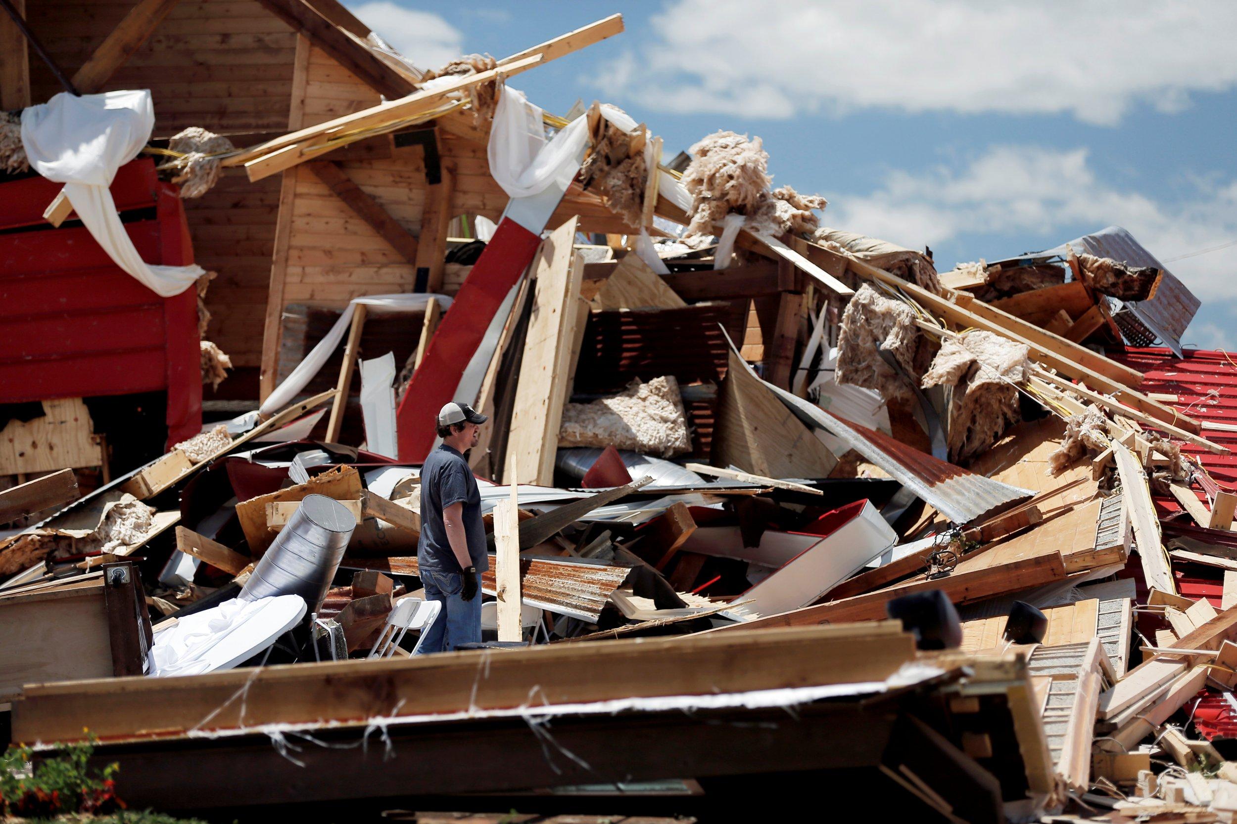 Tornadoes Texas