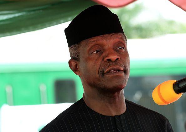 Nigeria's Vice President Yemi Osinbajo