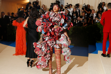 The most beautiful and outrageous looks at the 2017 Met Gala.