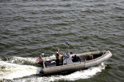 U.S. Navy West Africa patrol