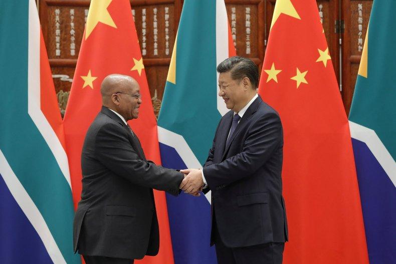Zuma Xi Jinping