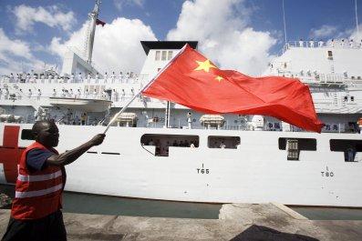 Kenya China flag