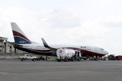 Arik Air plane Lagos