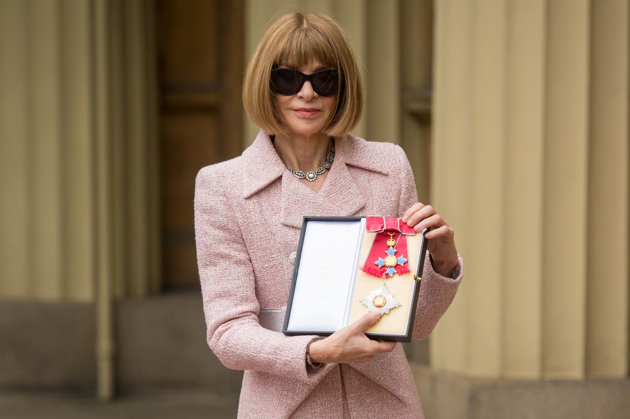 Anna Wintour, British Editor Of American Vogue, Is Now A Dame