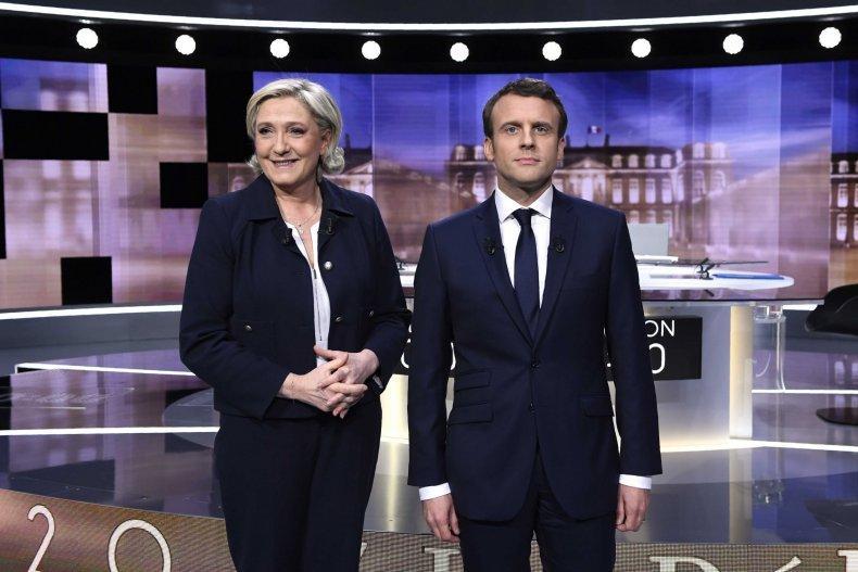 Le Pen, Macron