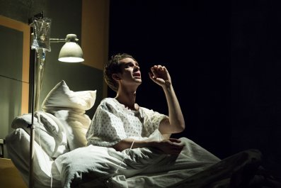 Andrew Garfield (Prior) in Angels in America
