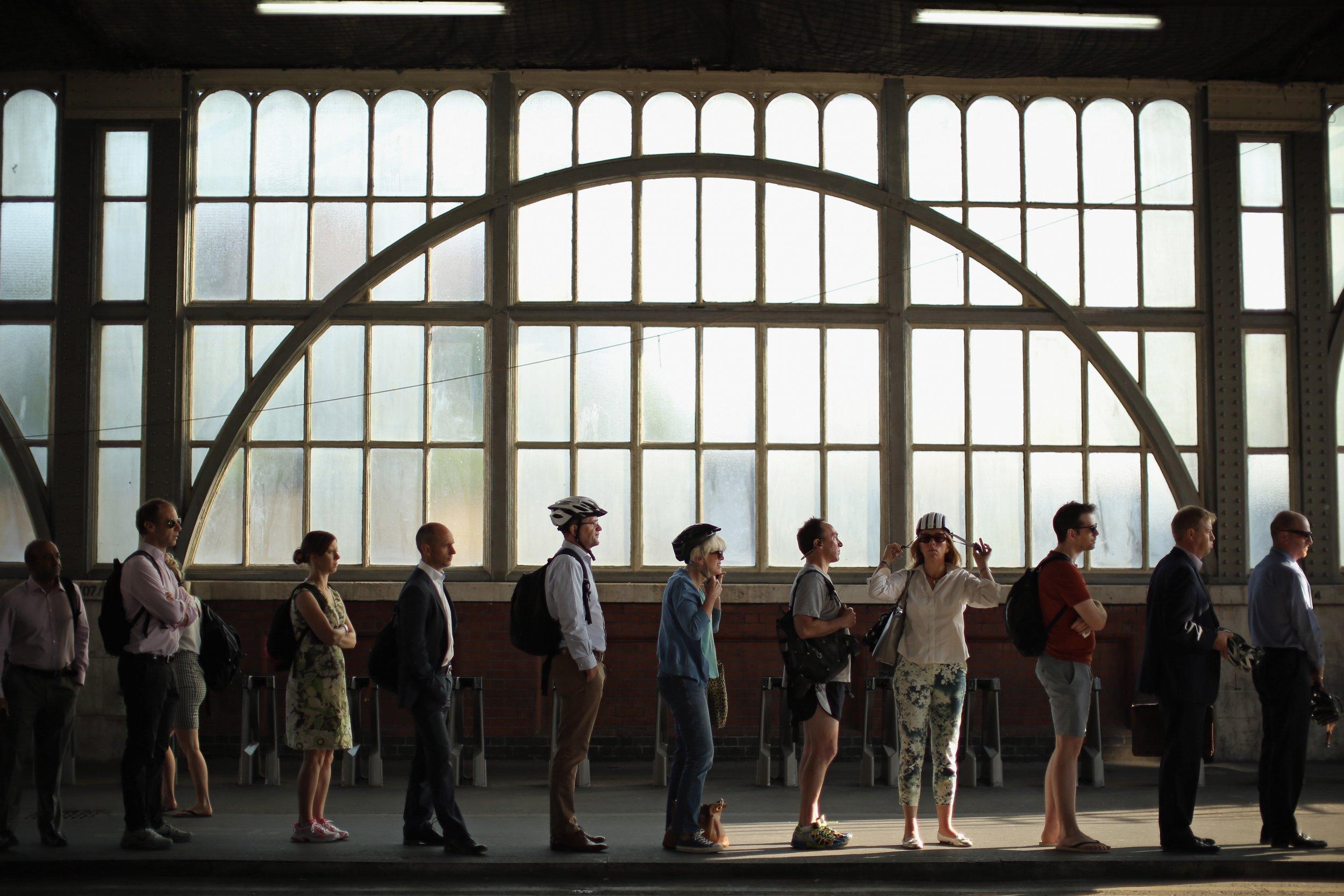 Commuters line London
