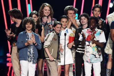 Stranger Things wins at MTV Movie & TV Awards