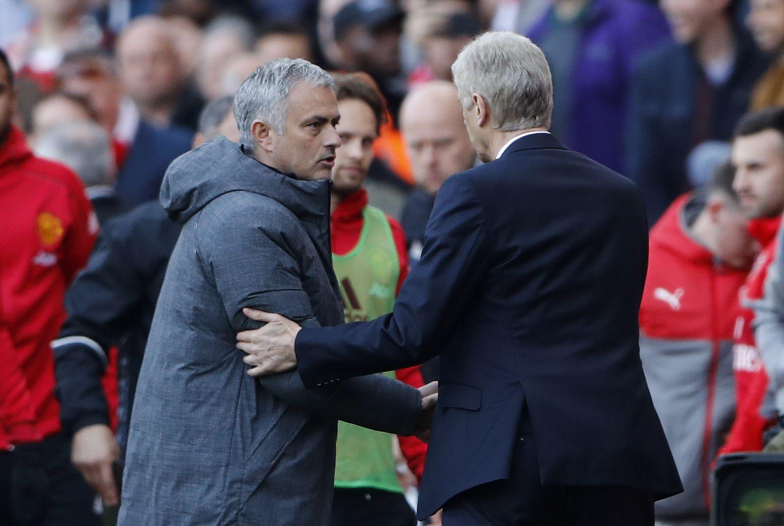 Jose Mourinho's Record Against Arsenal And Arsene Wenger