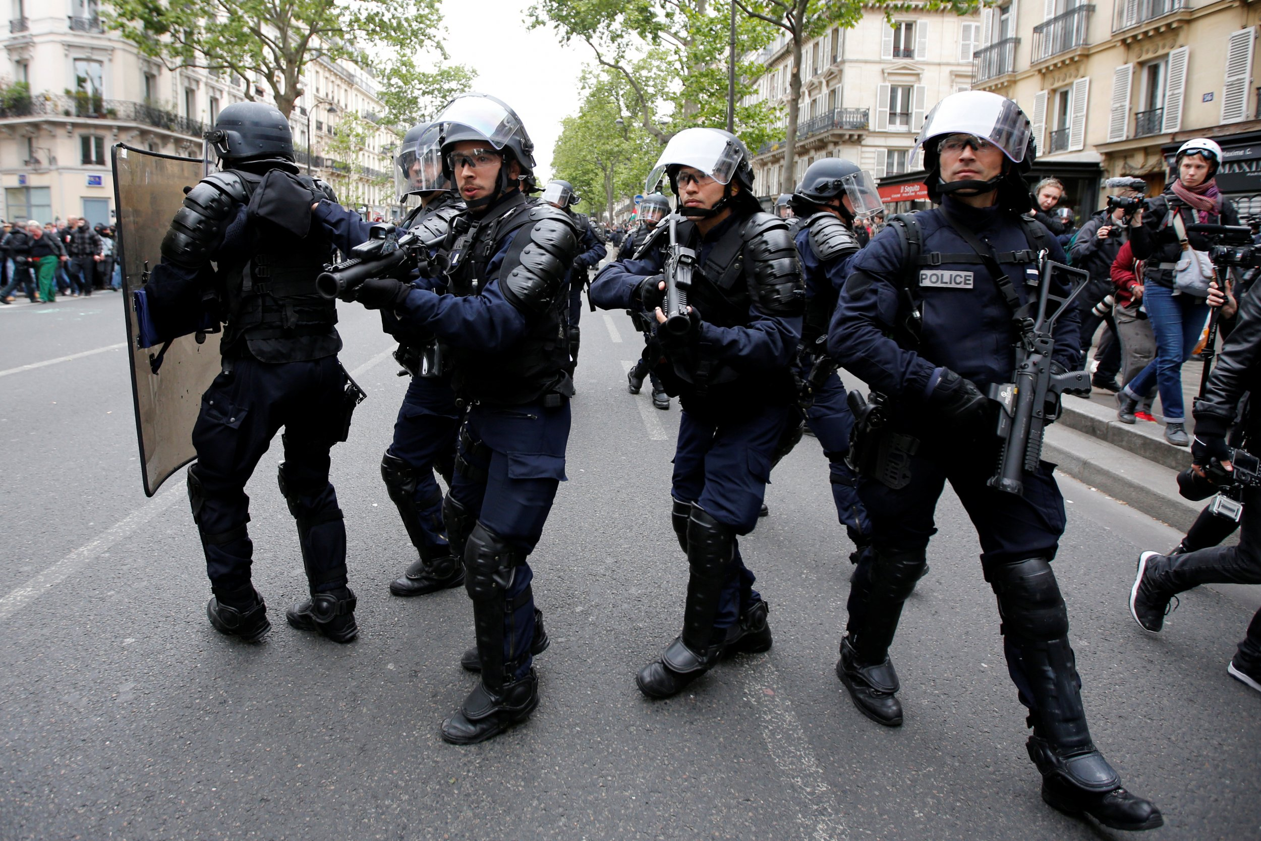 French election riots
