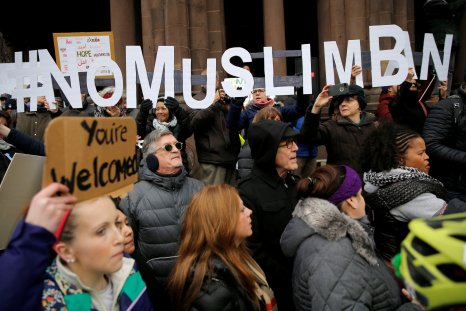 muslim ban photo