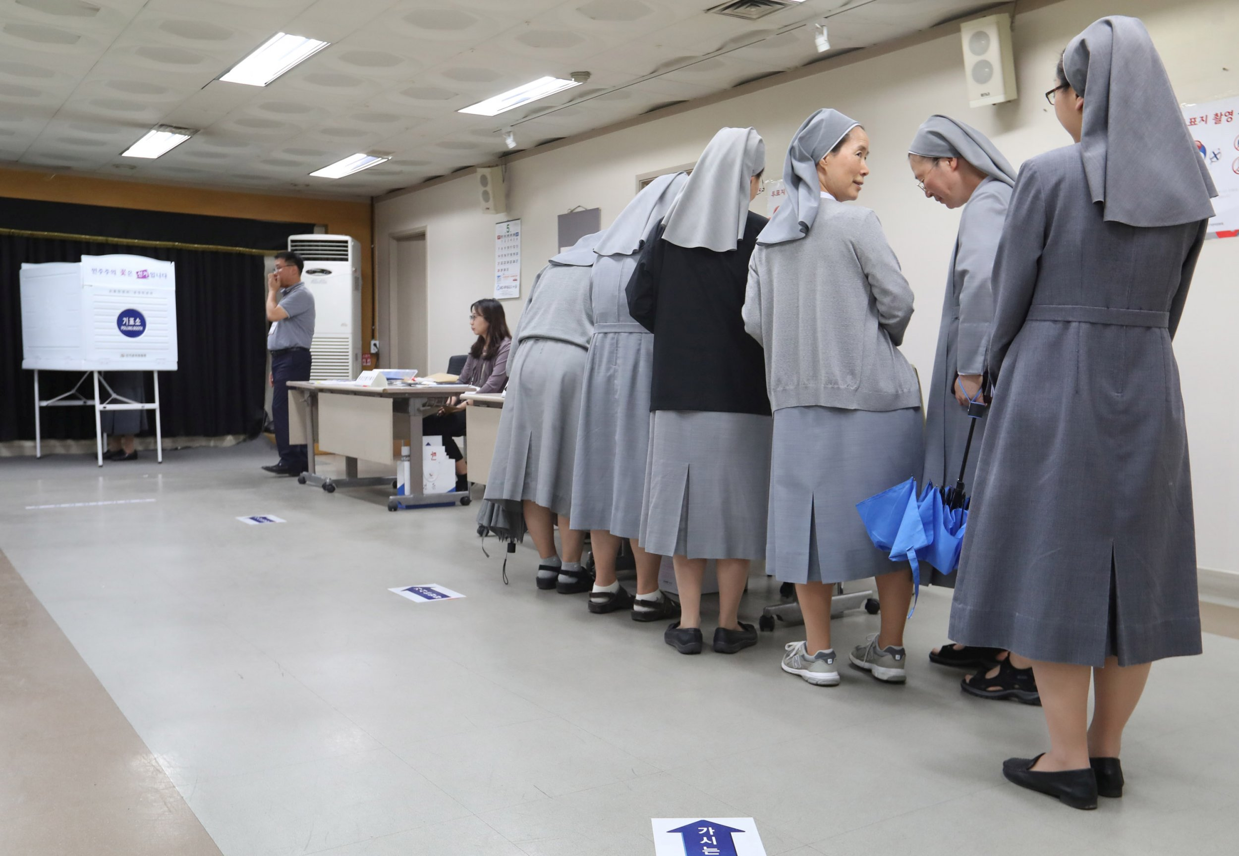 Nuns in South Korea