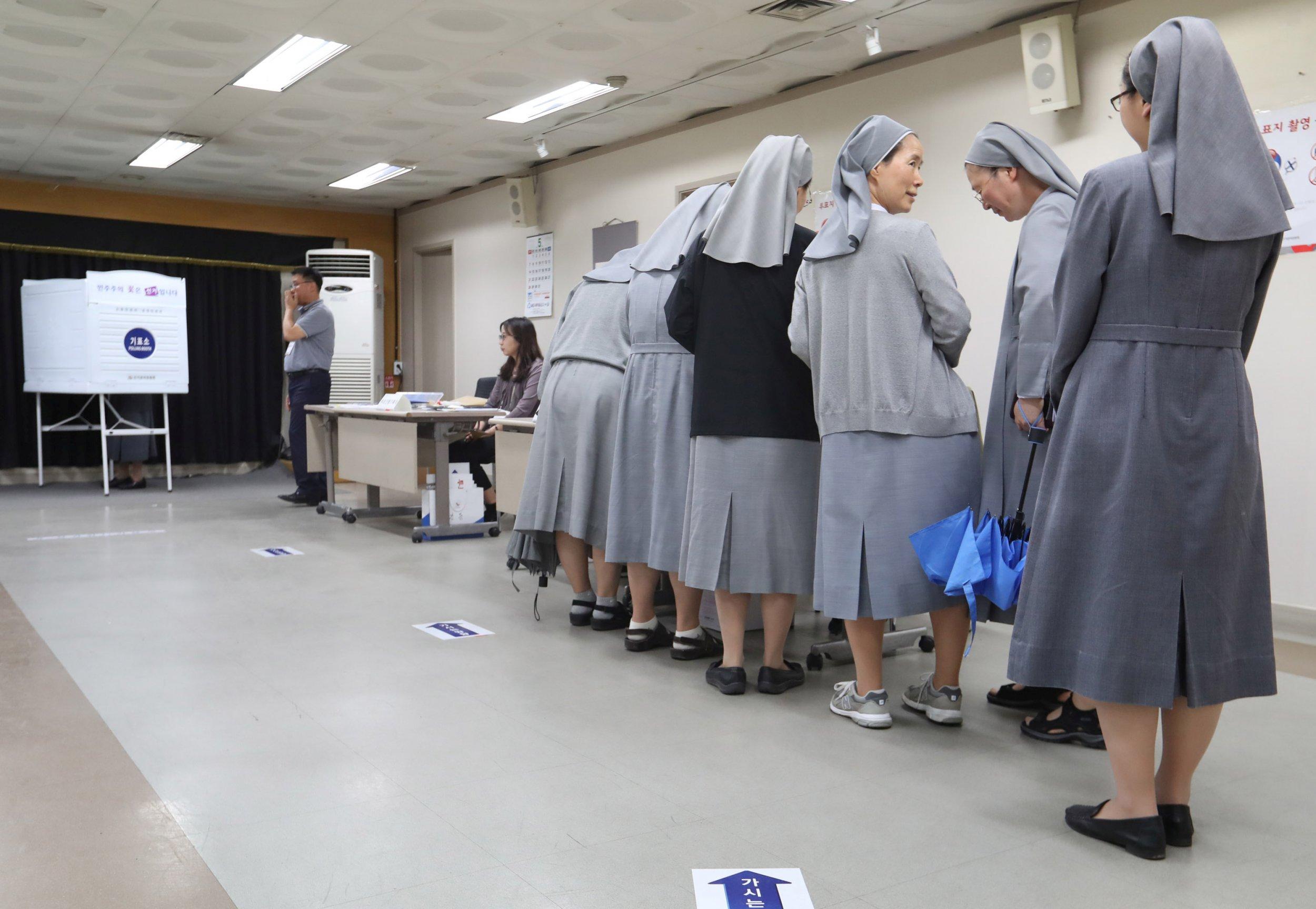 Nuns in South Korea