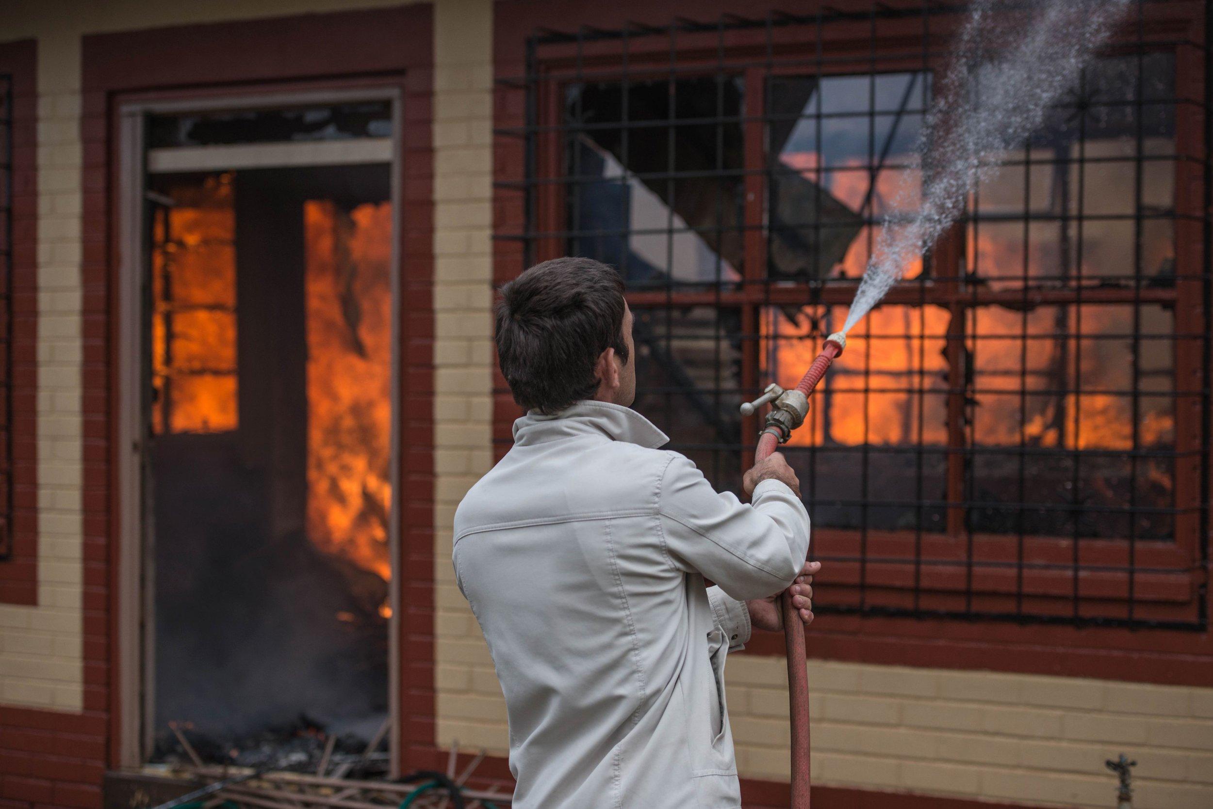 Coligny arson