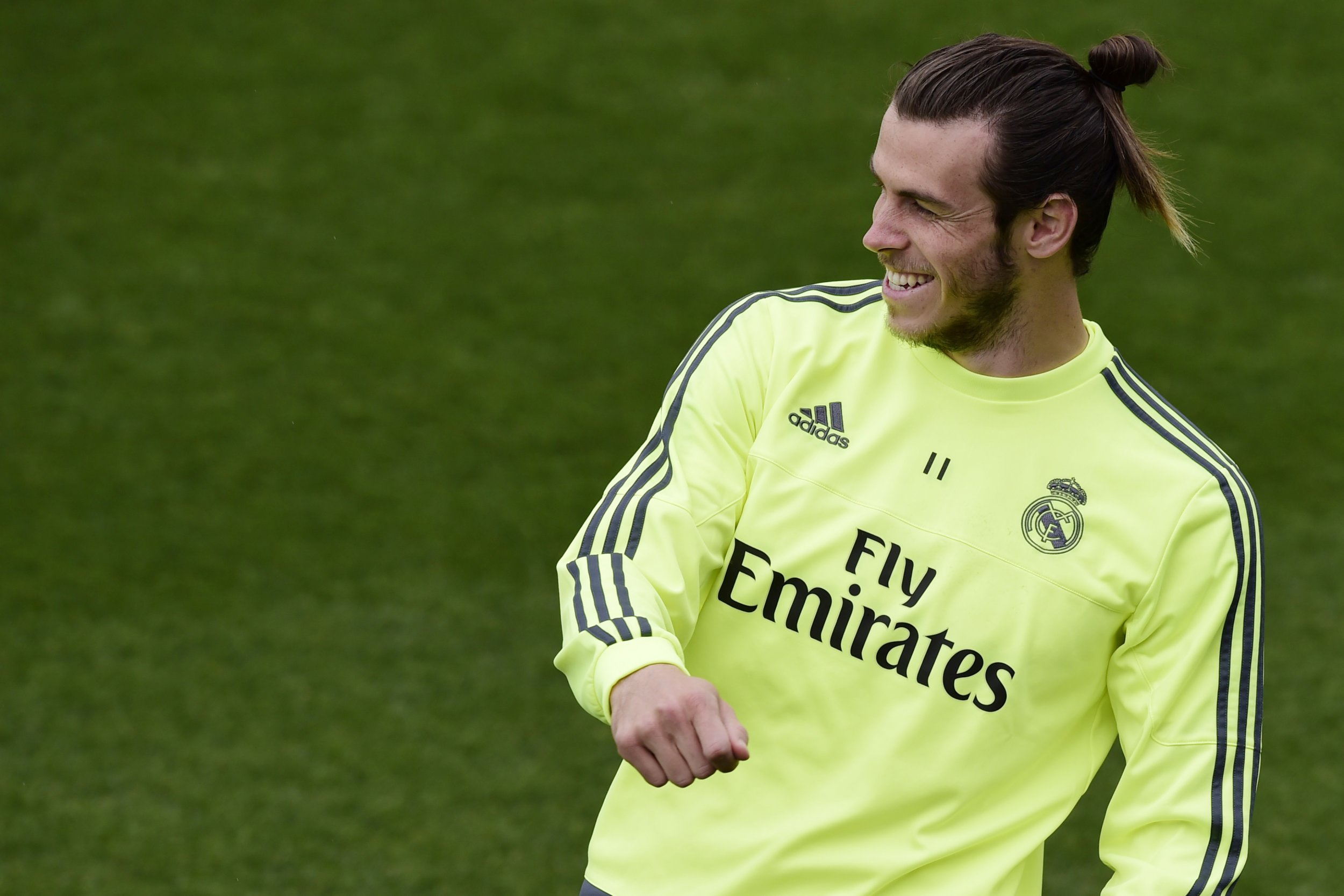Real Madrid's Welsh forward Gareth Bale in Madrid, Spain, May 13 2016.
